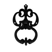 Türklopfer Haustürklopfer Schmiedeeisen Schwarz matt Haustürbeschlag Klopfer