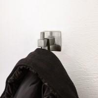 Echt Edelstahl Wandhaken Handtuchhalter Kleiderhaken Garderobenhaken mit Pin