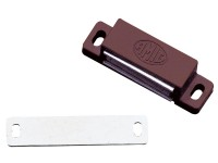 Magnetschnäpper Möbelmagnet Türmagnet Magnetverschluss Schnapper 5kg in Braun