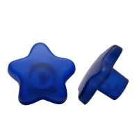 Möbelknopf Kinderzimmerknopf Schrankknopf Modell Blauer Stern