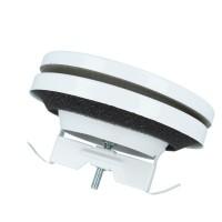 Deckelventil Lüftungsventill Zuluftventil Gitter Stahlblech verzinkt Weiß RAL 9016