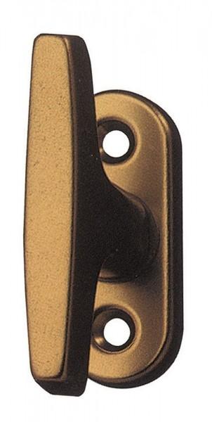 Aluminium Ganzolive Modell 3013 Ausführung F4 bronzeeloxiert Fenstergriff