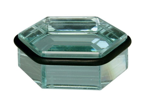 Türstopper Bodentürpuffer Türpuffer aus Glas Höhe 43mm