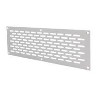 Lochblech Aluminium 80mm Breite Silber eloxiert F1 Lüftungsgitter Lüftungsblech
