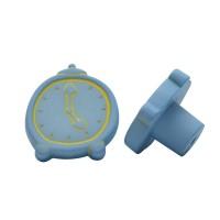 Möbelknopf Kinderzimmerknopf Schrankknopf Modell Blaue Uhr