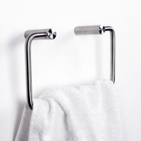 Edelstahl Handtuchring Klopapierhalter Serie Wollongong Handtuchhalter Rollenhalter