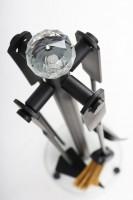 Kamingarnitur mit Glasboden und Acrylglask.