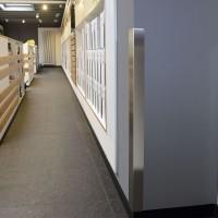 Kantenschutz Eckschutzwinkel Edelstahlwinkel V2A gleichschenkliger Eckschutz