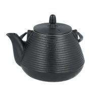 Wasserkessel Verdampferlkessel Ofenkessel Gusseisen 2,5 Liter mit Teesieb