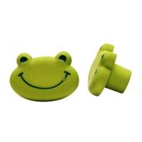 Möbelknopf Kindermöbelknopf Schubladenknopf Modell Grüner Frosch