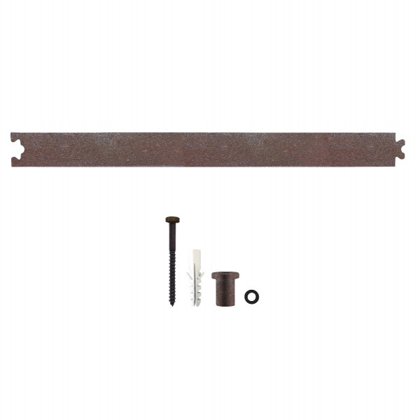 Zwischenschiene Antik Verlängerung für Schiebetüren 45 cm