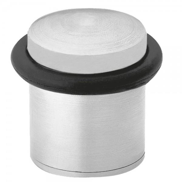 Türstopper echt Edelstahl Türpuffer Bodentürstopper Stopper gebürstet ø 25 mm