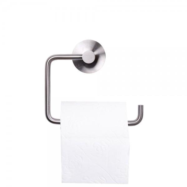 Edelstahl WC-Rollenhalter Toilettenpapierhalter matt gebürstet Klopapierhalter