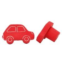 Möbelknopf Schubladenknopf Kindermöbelknopf Modell Rotes Auto