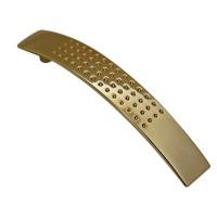 Schrankgriff Ausführung Messing Optik 128mm Lochabstand Möbelgriff aus Metall