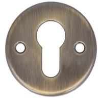 1 Paar Profilzylinderrosetten Antik Messing Rosetten Profilzylinderabdeckung