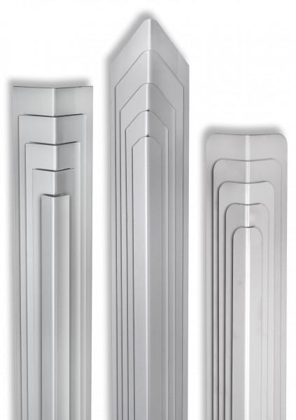 Eckschutzwinkel 20mm x 20mm x1500mm Ende Gerade Edelstahl Kantenschutz V2A