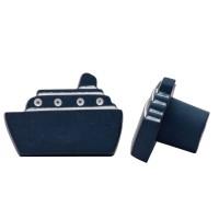 Möbelknopf Kinderzimmerknopf Schrankknopf Modell Blaues Schiff